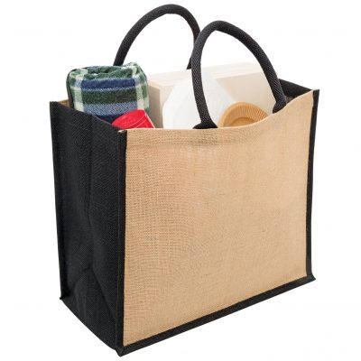 Eco Jute Tote with wide gusset