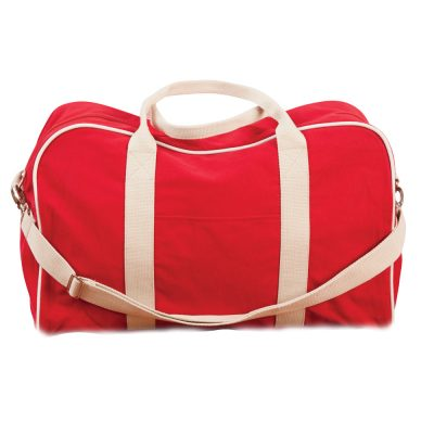 Cotton Canvas Sports Bag