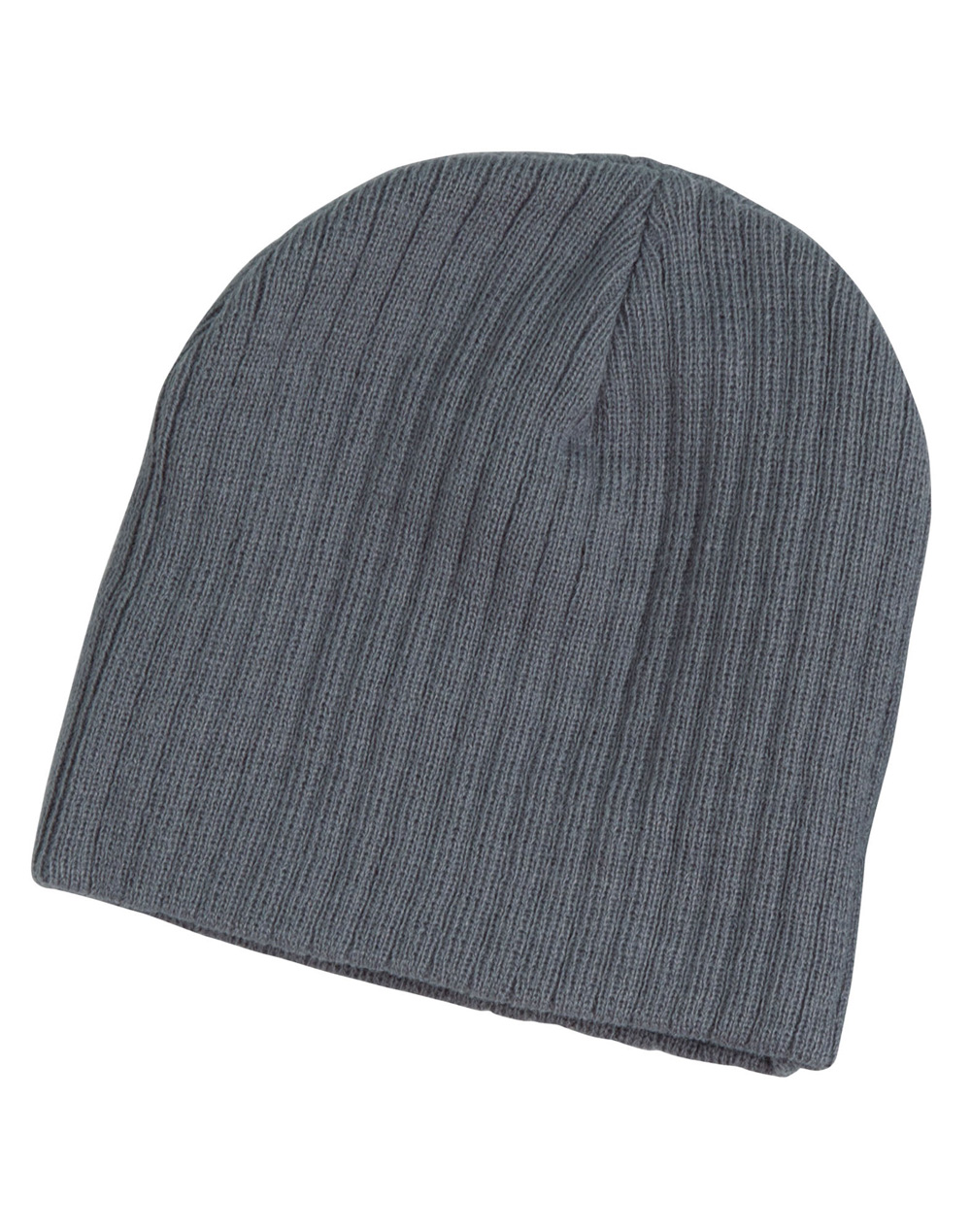 Acrylic knit beanie with cable row feature - RJS Group Pty Ltd
