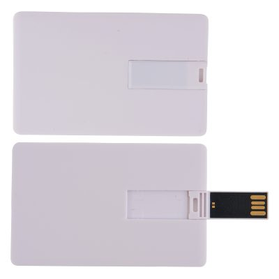 Credit Card Flash Drive on Custom Backing Card