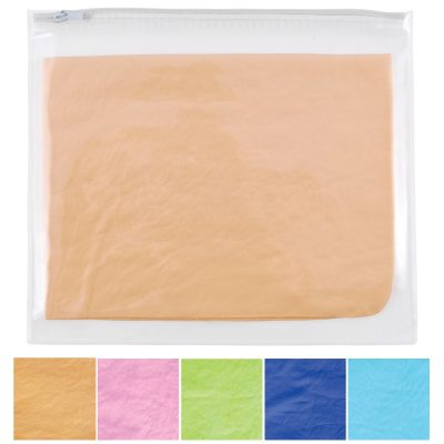 Debossed Supa Cham Chamois / Body Towel in PVC Zipper Pouch