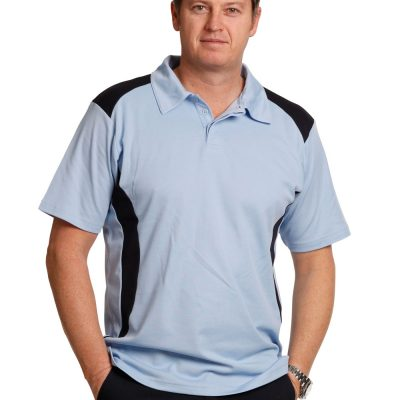 Men's Truedry contrast polo
