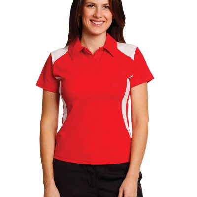 Ladies' Truedry S/S Contrast Polo
