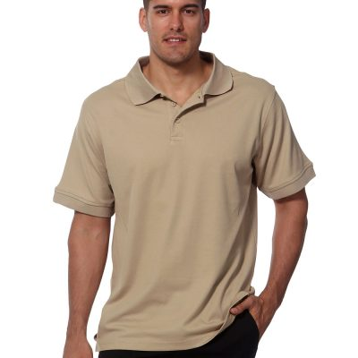 Men's cotton backTruedry S/S polo