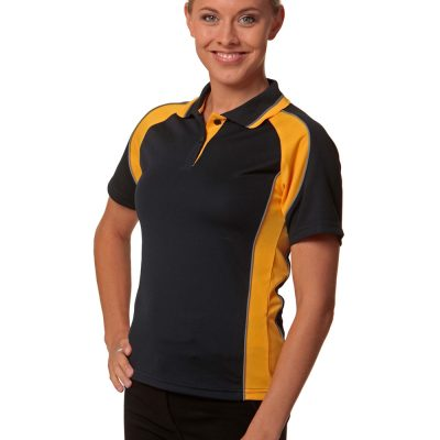 Ladies' mini waffle CoolDry Polo