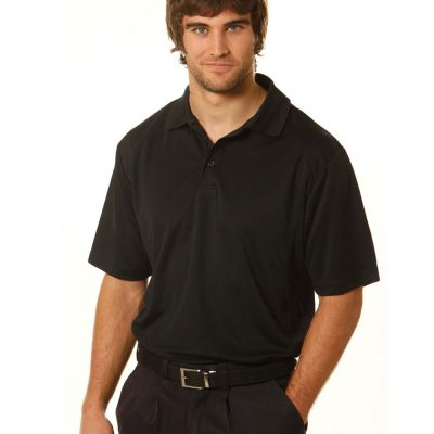 mens bamboo charcoal S/S Polo