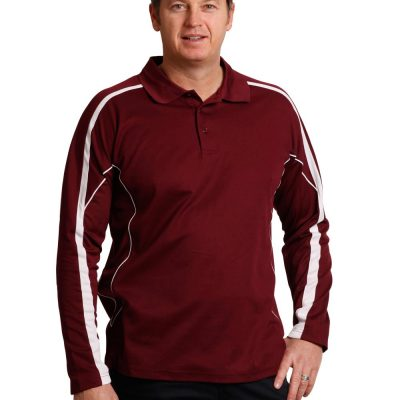 Men's TrueDry Long Sleeve Polo