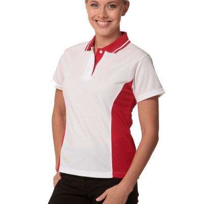 Ladies' TrueDry Contrast S/S Polo