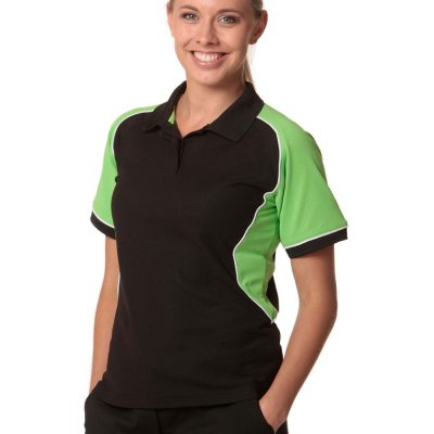 Ladies' TrueDry Tri-colour S/S Pique Polo