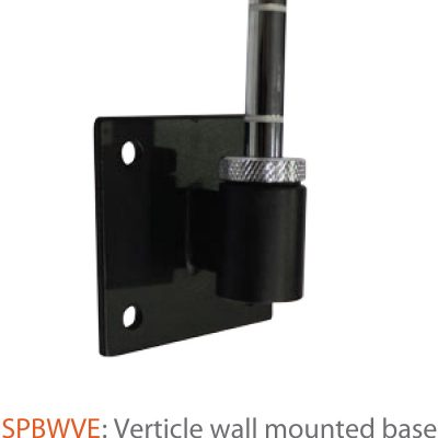 Indoor Verticle Wall Mounted Base