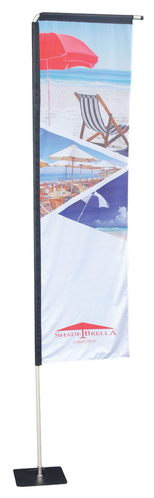Medium Rectangle Flag - Double Sided Combo