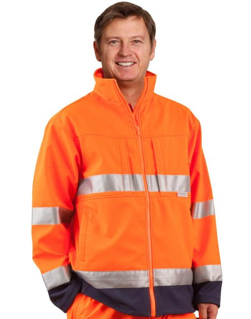 Hi-Vis 2-tone safety jacket 3M tape