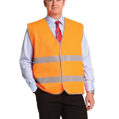 Hi-Vis Safety Vest With Reflective Tapes