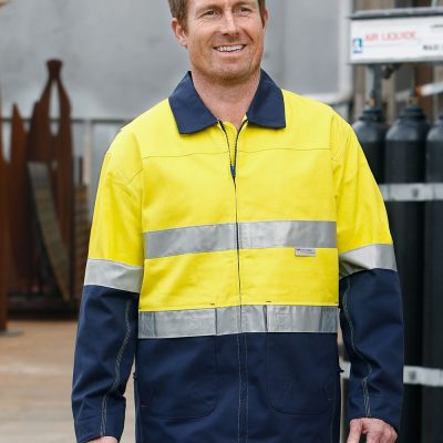 Hi-Vis Two Tone Work Jacket With 3M Tapes