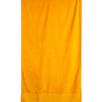terry velour beach towel 75x150 cm