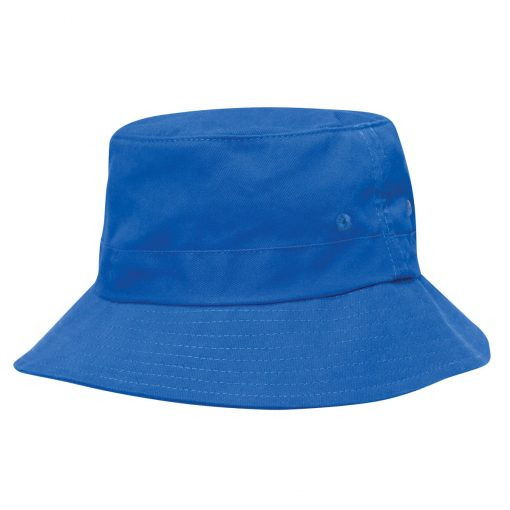 Kids Twill Bucket Hat w/Toggle