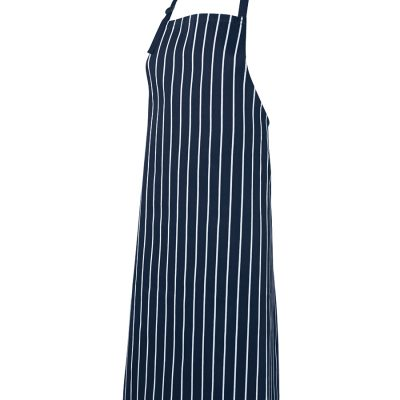 JB'S BIB STRIPED APRON WITHOUT POCKET