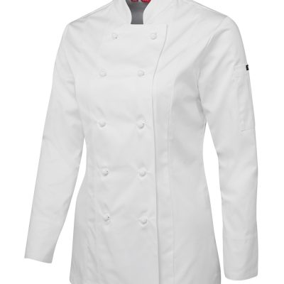 JB'S LADIES L/S CHEF'S JACKET