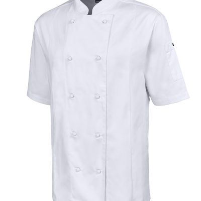 JB'S  S/S VENTED CHEF'S JACKET