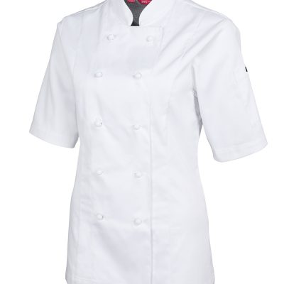 JB'S LADIES S/S VENTED CHEF'S