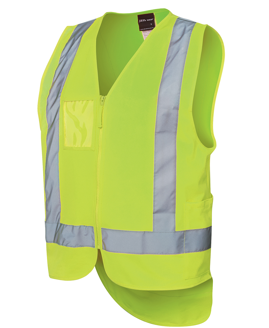 0db5d5708fa60 JB S HI VIS DROP TAIL H PATTERN (D+N) VEST - RJS Group Pty Ltd