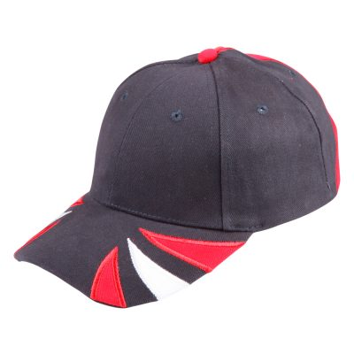 Spider cap H/B/C tri-color