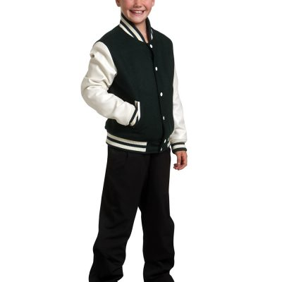 Kid's Wool Blend Varsity Jacket