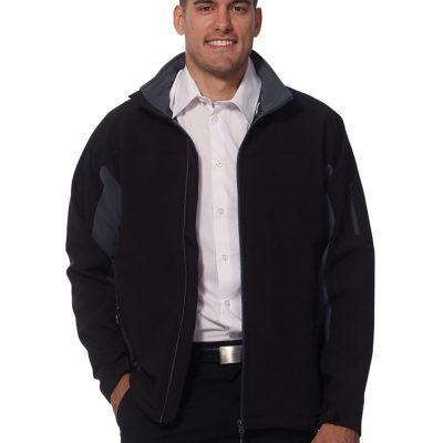 Men's Contrast Softshell Jacket