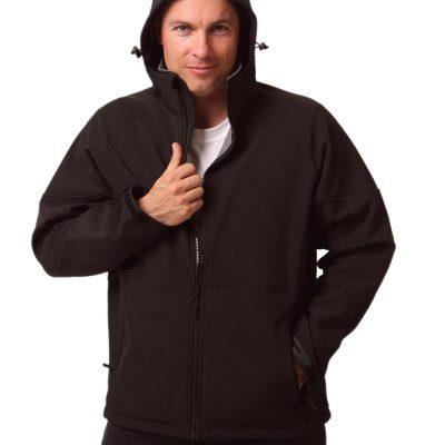 Men's Softshell Full Zip Hoodie