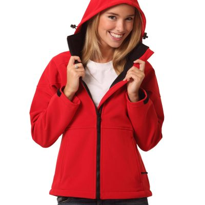 Ladies' Softshell Full Zip Hoodie