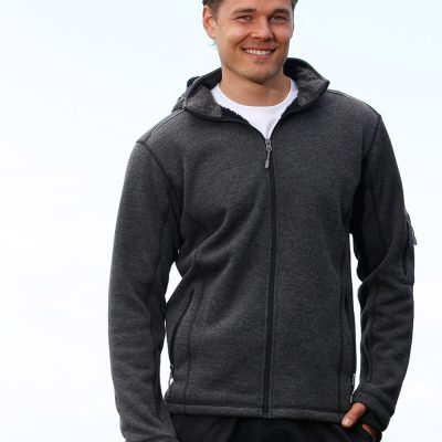 Men's Heather Bonded Fleece Jacket