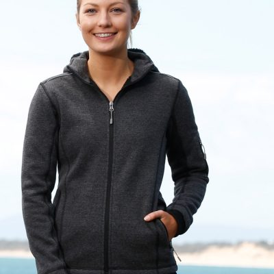 Ladies' Heather Bonded Fleece Jacket