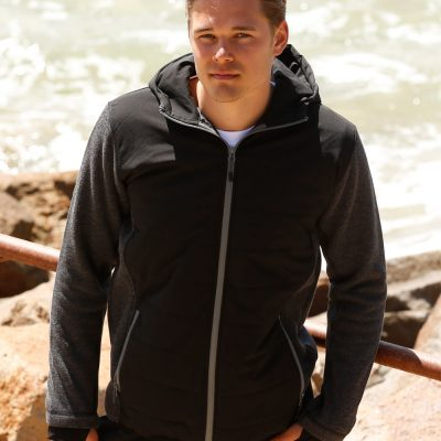 Men's Heather Sleeve/Quilted Body Jacket