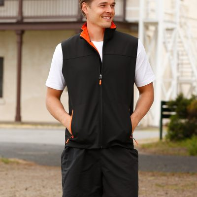 Men's Softshell Contrast Vest