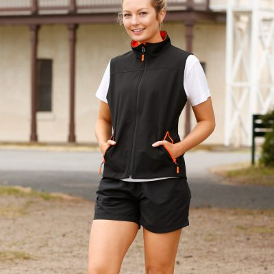Ladies' Softshell Contrast Vest