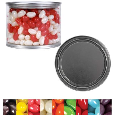 Corporate Colour Mini Jelly Beans in 500ml Drum