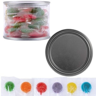 Corporate Colour Lollipops in 500ml Drum