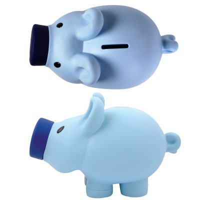 Priscilla Pig® (Pink) and Patrick Pig® (Blue) Coin Bank