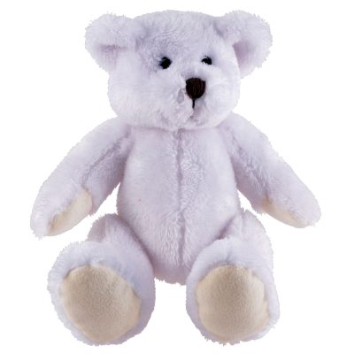 Frosty Plush Teddy Bear