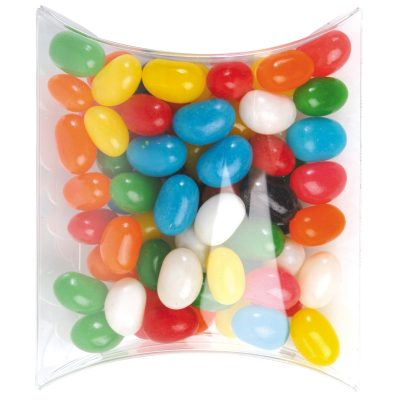 Assorted Colour Mini Jelly Beans in Pillow Pack