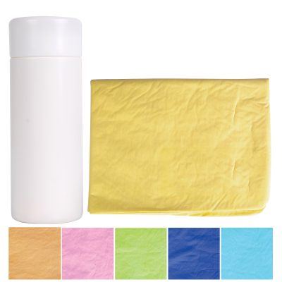 Debossed Supa Cham Chamois / Body Towel in Tube