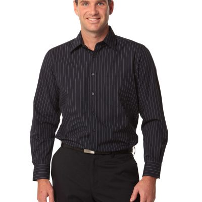 Men's Pin Stripe Long Sleeve Shirt