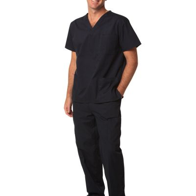 Unisex Scrubs Short Sleeve Tunic Top