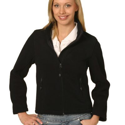 ladies bonded P/F full zip jacket