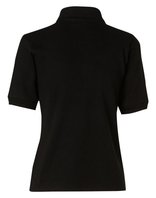 ladies' pure cotton contrast piping