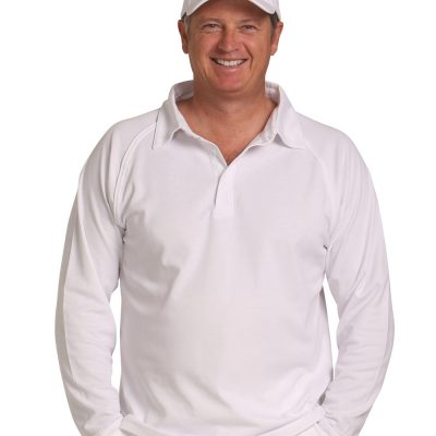 mens truedry cricket polo