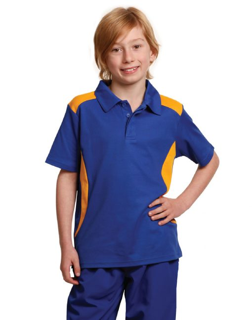 Chidren's Truedry contrast polo