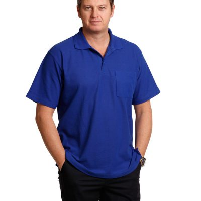 Pocket short sleeve polo