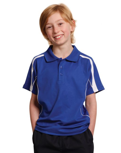 Kids S/S polo truedry