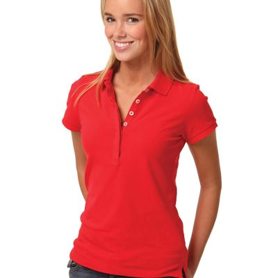 Ladies' Turedry Pique Polo